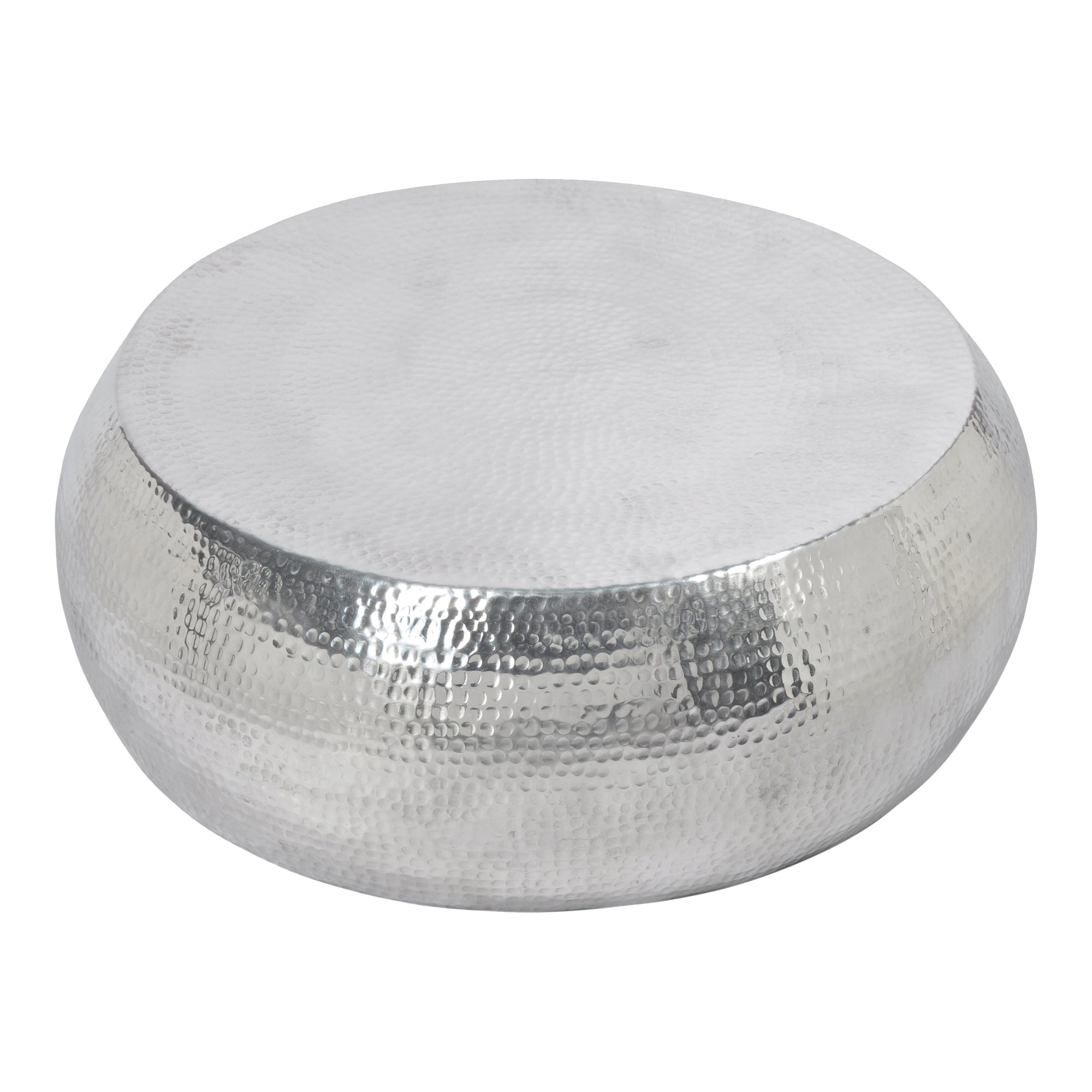 Tabla Silver Round Coffee Table