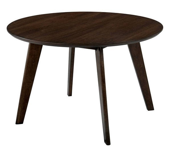 Walnut Round Dining Table