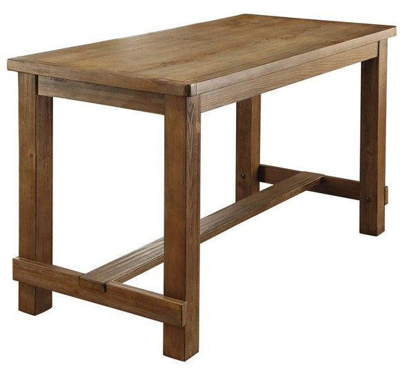 Natural Tone Counter Height Dining Table
