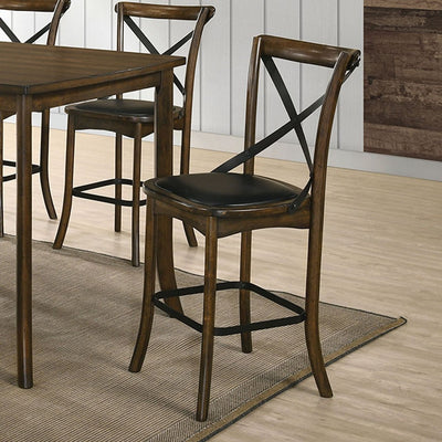 Buhl I Burnished Oak Counter Height Dining Table - KTL Furniture