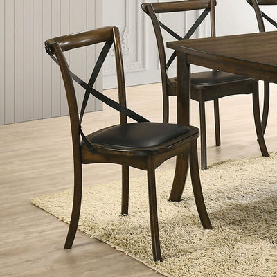 Buhl I Burnished Oak/Espresso Dining Chair (2/CTN) - KTL Furniture