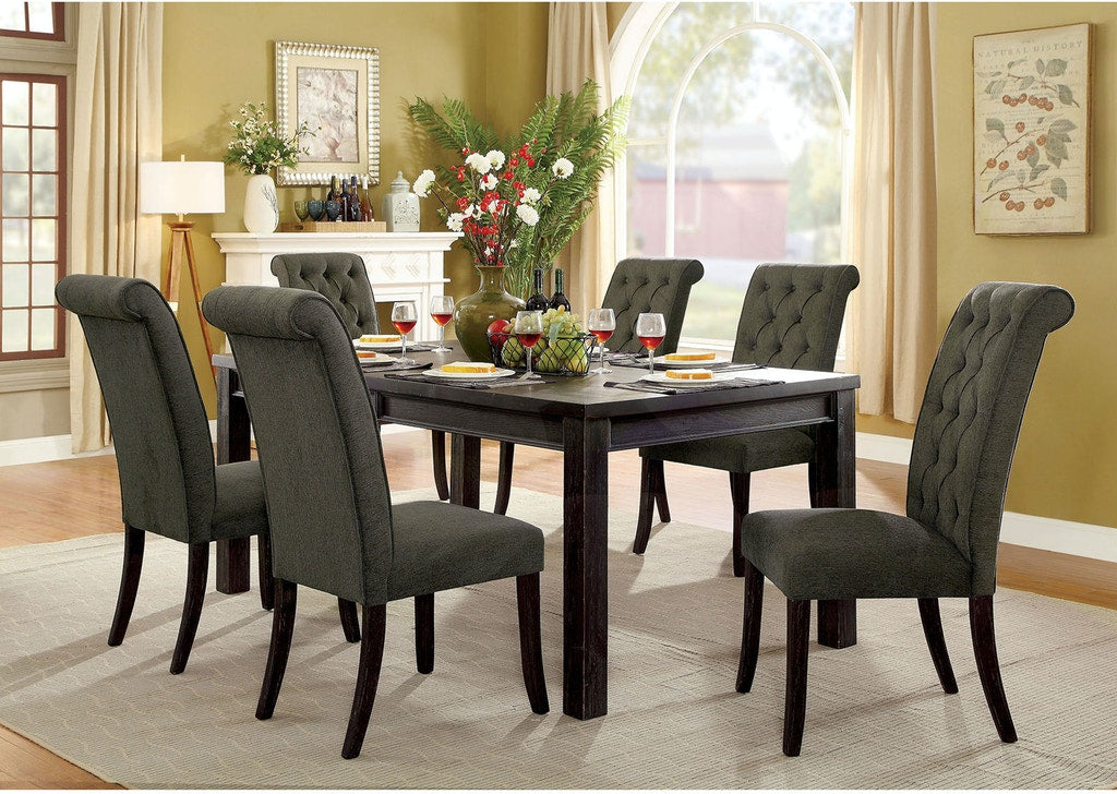 Gray 7PC Dining Set - KTL Furniture