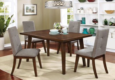 Gray Walnut 5PC Dining Set - KTL Furniture