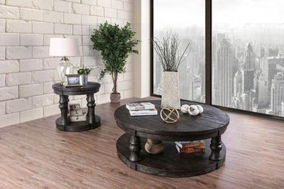 Mika Wooden Top Coffee Table - KTL Furniture