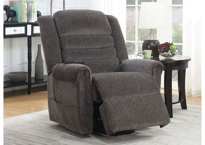 Ovar Brown Recliner - KTL Furniture