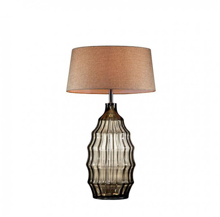 Elen Olive Hand Blown Glass Table Lamp
