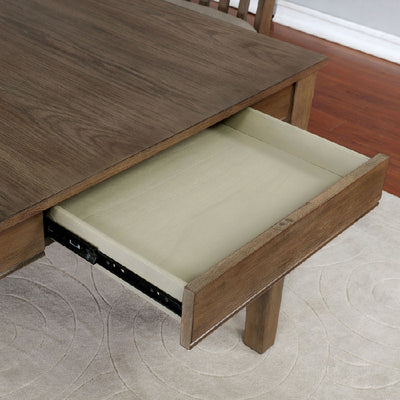 Astilbe Light Oak Dining Table - KTL Furniture