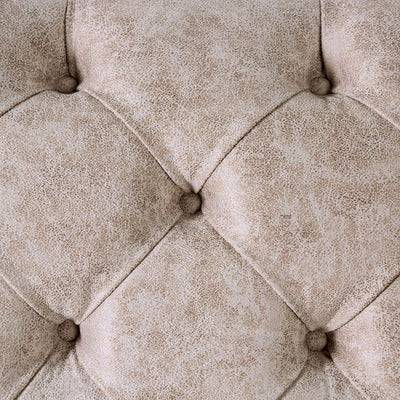 Parshall Beige w/ Gold Highlights 2PC Sofa Set - KTL Furniture