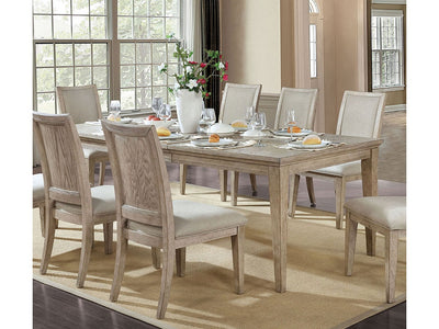 Cerise Natural Tone Dining Table - KTL Furniture