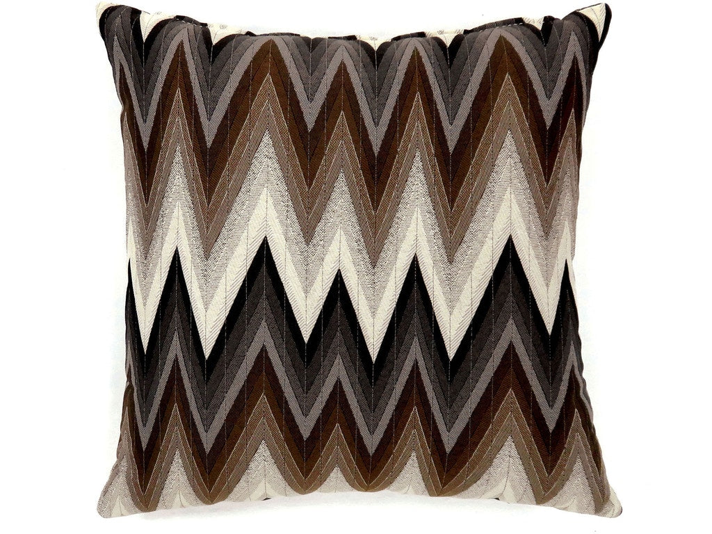 Ziggs Brown Polyester/Polypropylene Pillow (2/CTN)