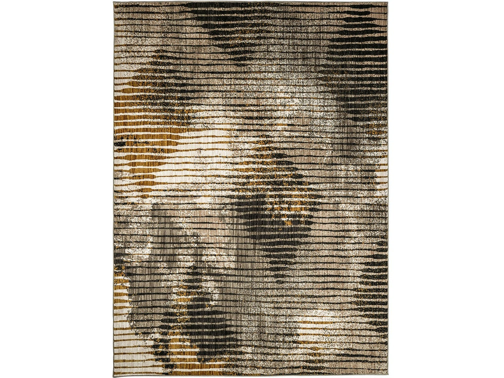 Rena Brown  Polyester Rug