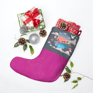Beach Personalized Christmas Stockings