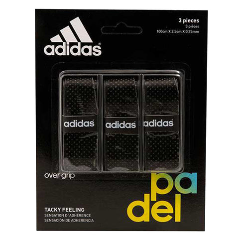 Pack Adidas Overgrips 3X Preto