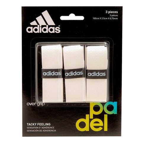 Pack Adidas Overgrips 3X Branco
