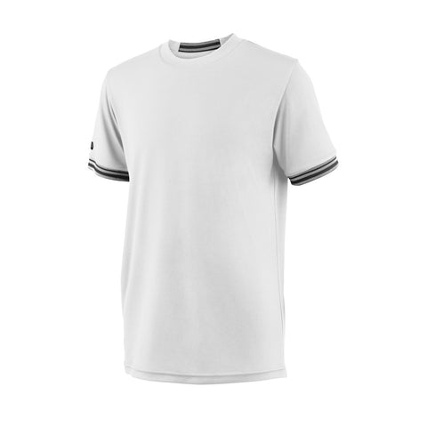 T-Shirt Wilson B Team Solid Crew White