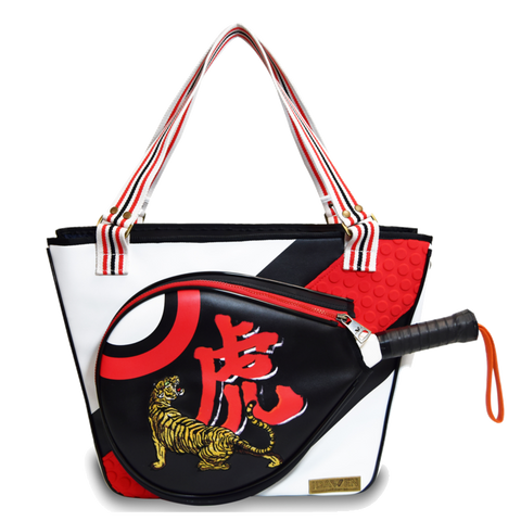 Bolsa Idawen Luxe Paddle Bag Black/ Red/ White