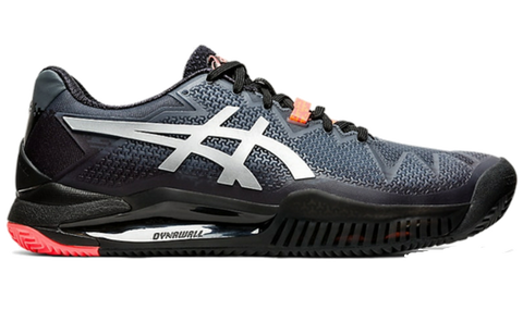 Sapatilhas de Padel ASICS Gel-Resolution 8 Clay L.E. Black/ Sunrise Red