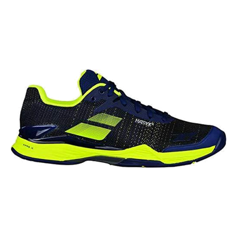 Sapatilhas Babolat Jet Mach 2 Clay Men 2018 E Blue/ F Yellow