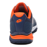 Sapatilhas Lotto Space 400 Clay Navy Blue/ Red Orange