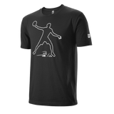 T-Shirt Wilson M Bela Tech Tee Black