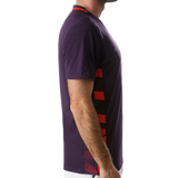 T-shirt Adidas Escouade Tee Legend Purple/ Shock Red