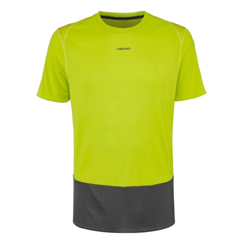 T-Shirt Head Vision Tech M 2018 Yellow/Antracite
