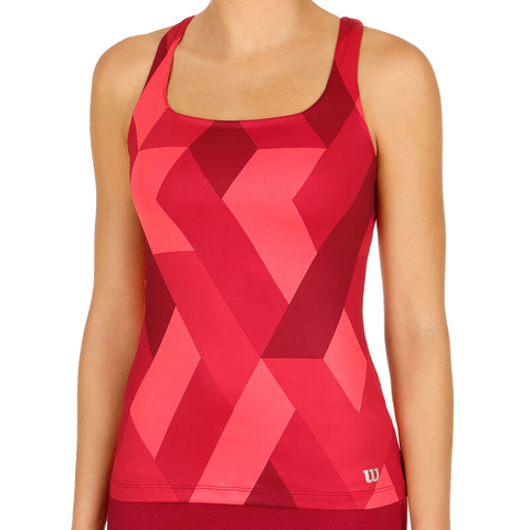Top Wilson W Fw Accord Tank - Beet Red
