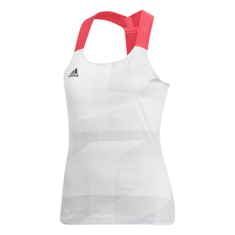 Top Adidas Y-Tank Olymp HR White