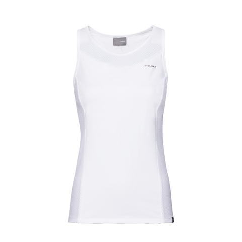 Top Head Perf Tank Top W White