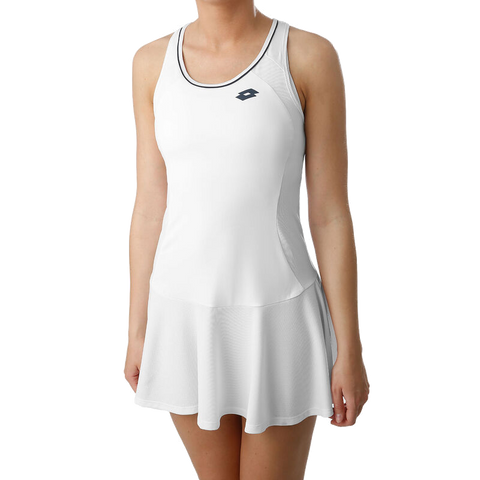 Vestido Lotto Squadra W Dress PL Brilliant White