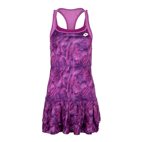 Vestido Lotto Top Ten W Dress PRT PL Purple Willow