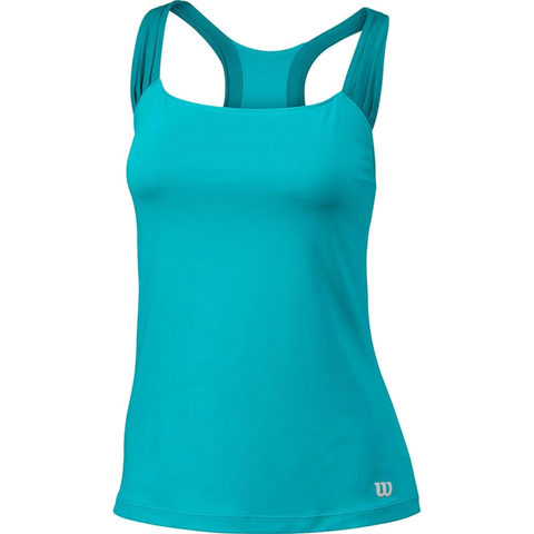 Top Wilson W Core Classic Tank - Blue Curacao