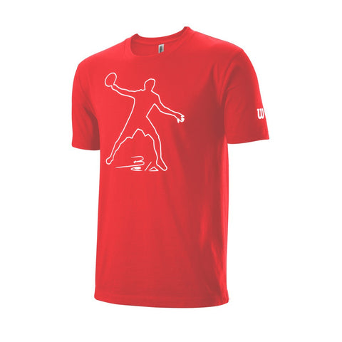 T-Shirt Wilson M Bela Tech Tee Infrared