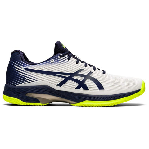 Sapatilhas de Padel ASICS Solution Speed FF Clay White/ Peacoat