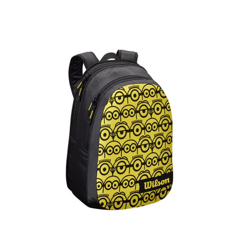 Mochila Wilson Minions JR Black/ Yellow