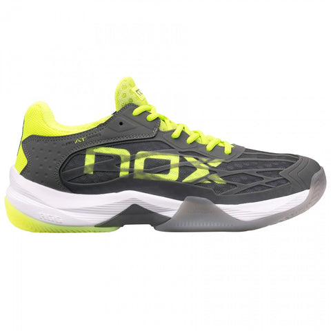Sapatilhas Nox AT10 Lux Grey/ Yellow Fluor