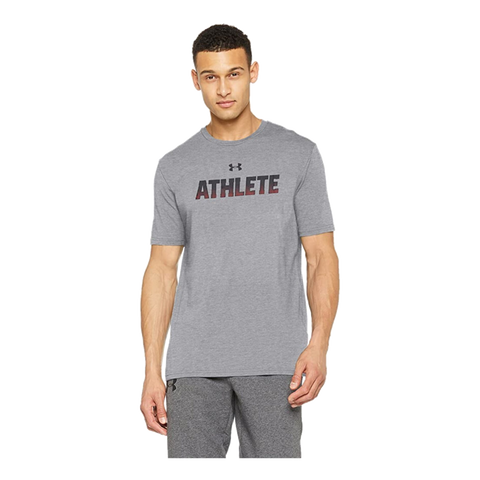 T-shirt Under Armour UA Athlete SS Cinza