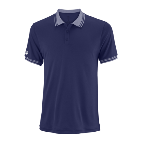 Polo Wilson M Team Polo Blue DEPTH