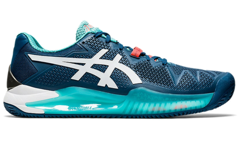 Sapatilhas de Padel ASICS Gel-Resolution 8 Clay Mako Blue