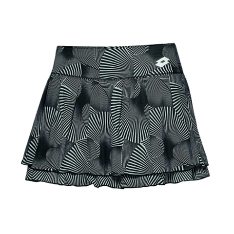 Saia Lotto Tennis Tech Skirt PRT PL W Brilliant White
