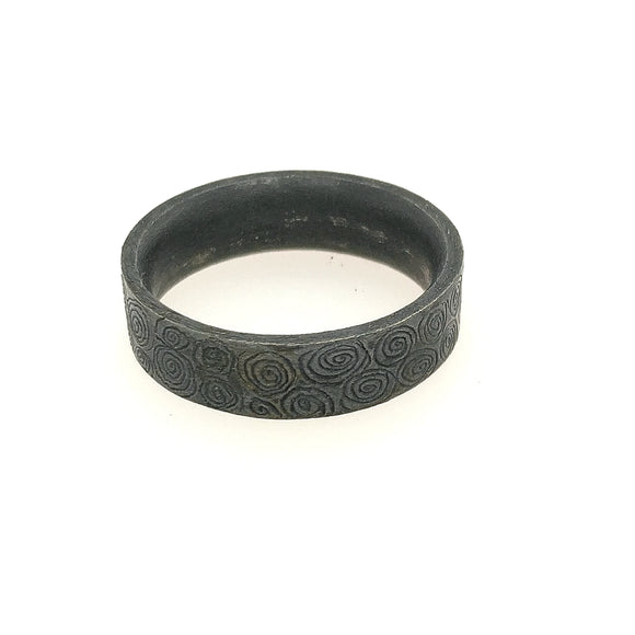 Sterling Scroll Ring