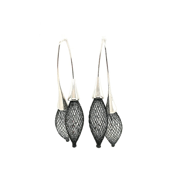 Boucles Croisees Bourgeons Earrings