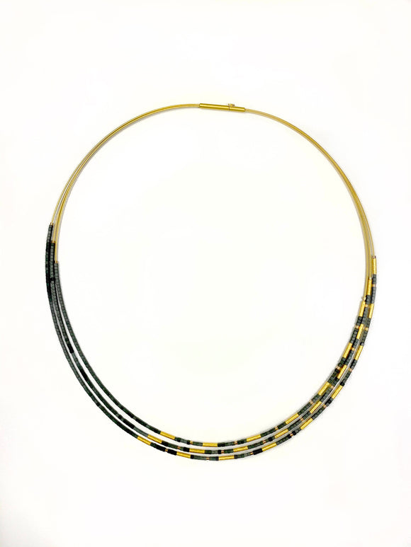 Clini Hematine Necklace