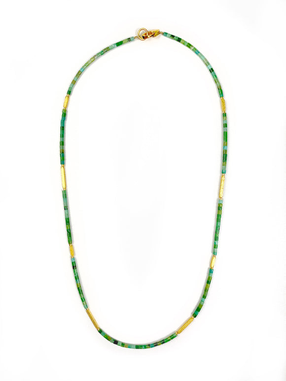 Facella Green Turquoise Necklace