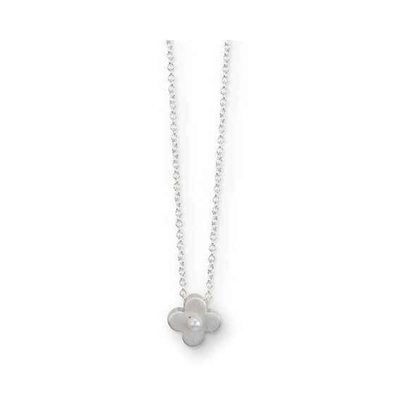Circle Flower Pearl Pendant