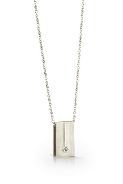 Pinpoint Diamond Pendant