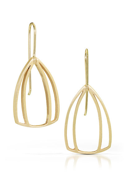 Vermeil Mod Blossom Earrings