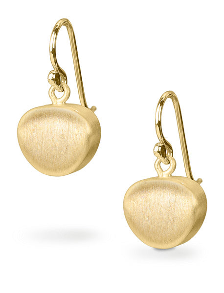 Vermeil Pebble Earrings