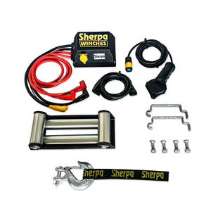 winch kit components steel cable winches
