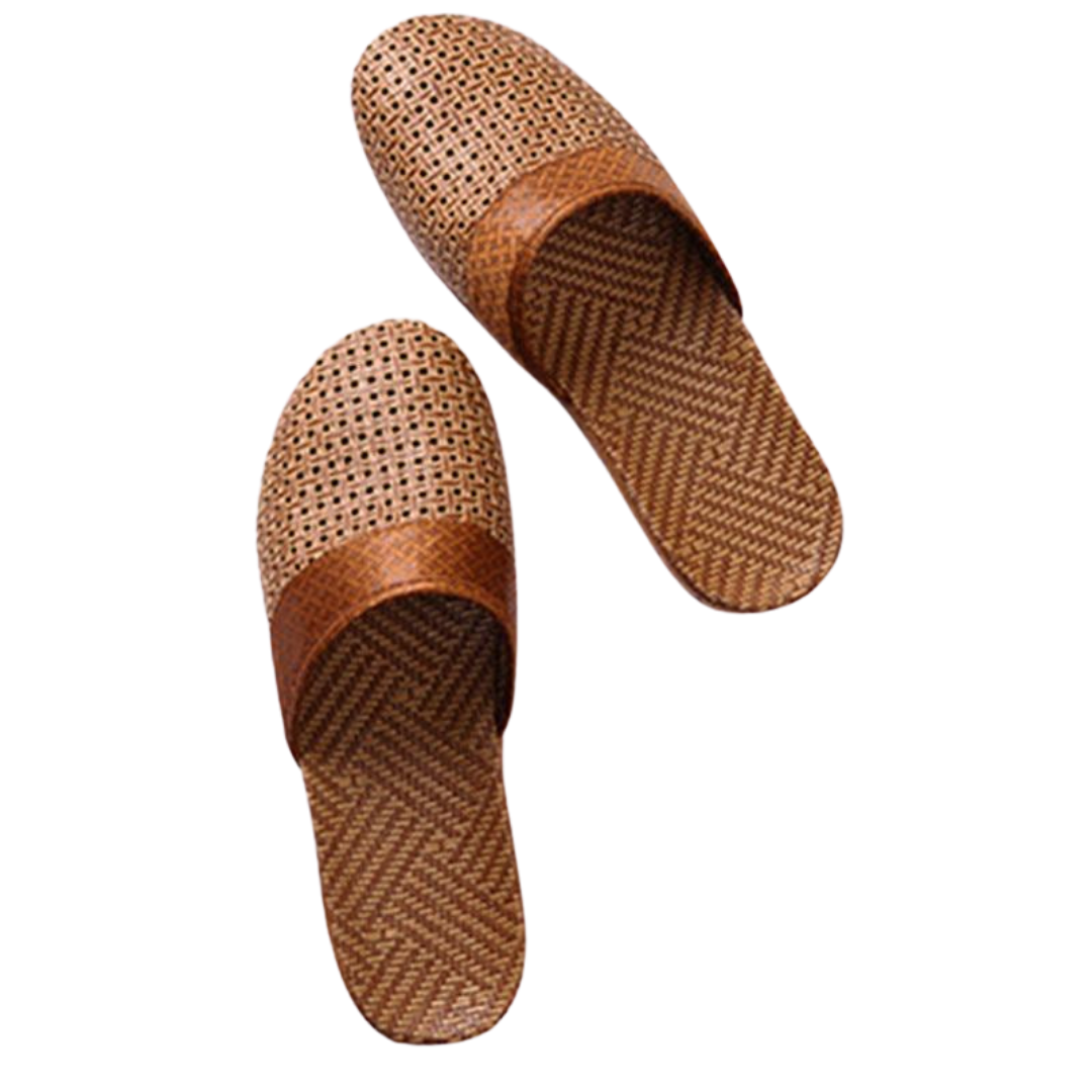 Men's Natural Slippe